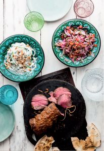 A recipe for Beef Mezze from the Mighty Spice Express