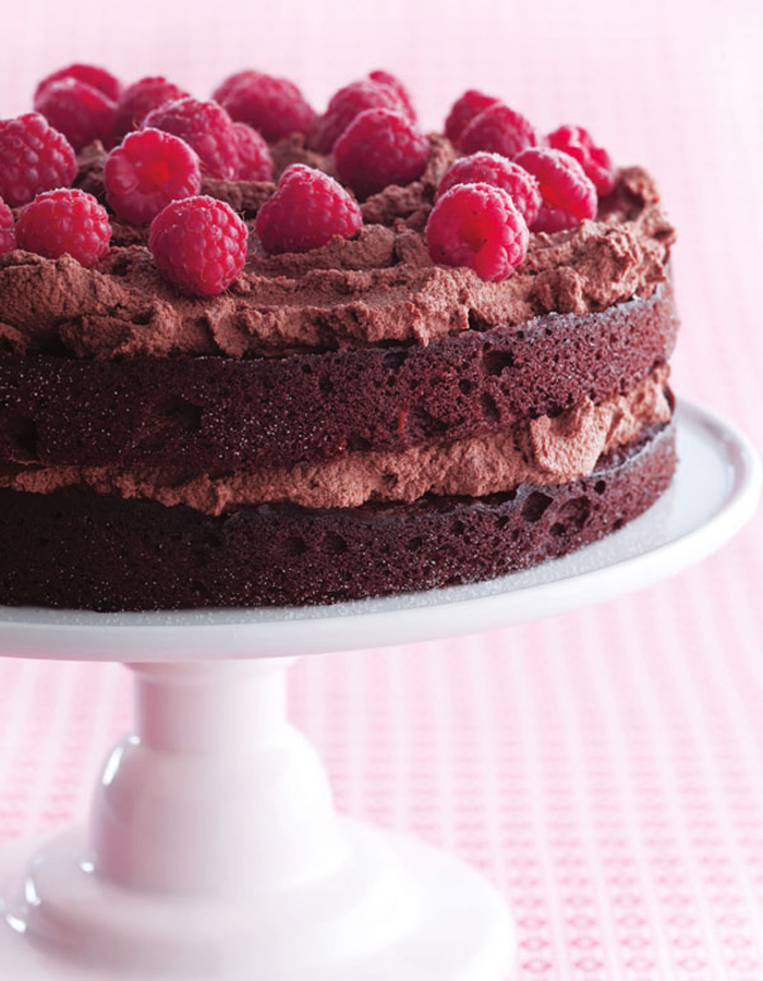 GlutenFree Chocolate Birthday Cake Recipe Nourish Books