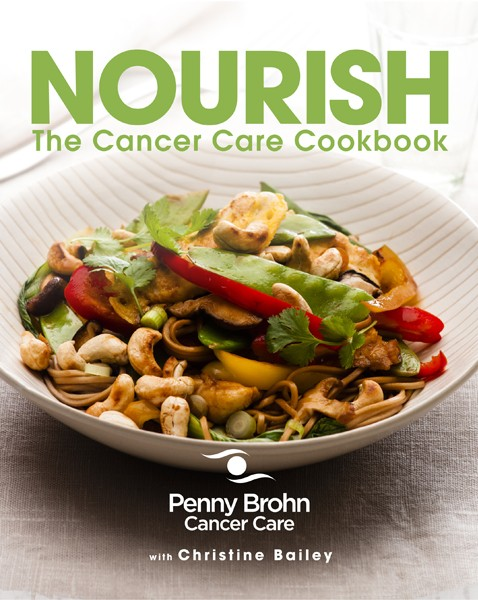 A recipe book for cancer care, and the foods to eat during chemotherapy