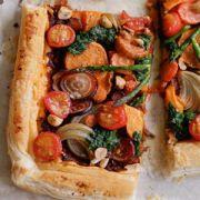 Adele MacConnell's rustic vegan tart recipe