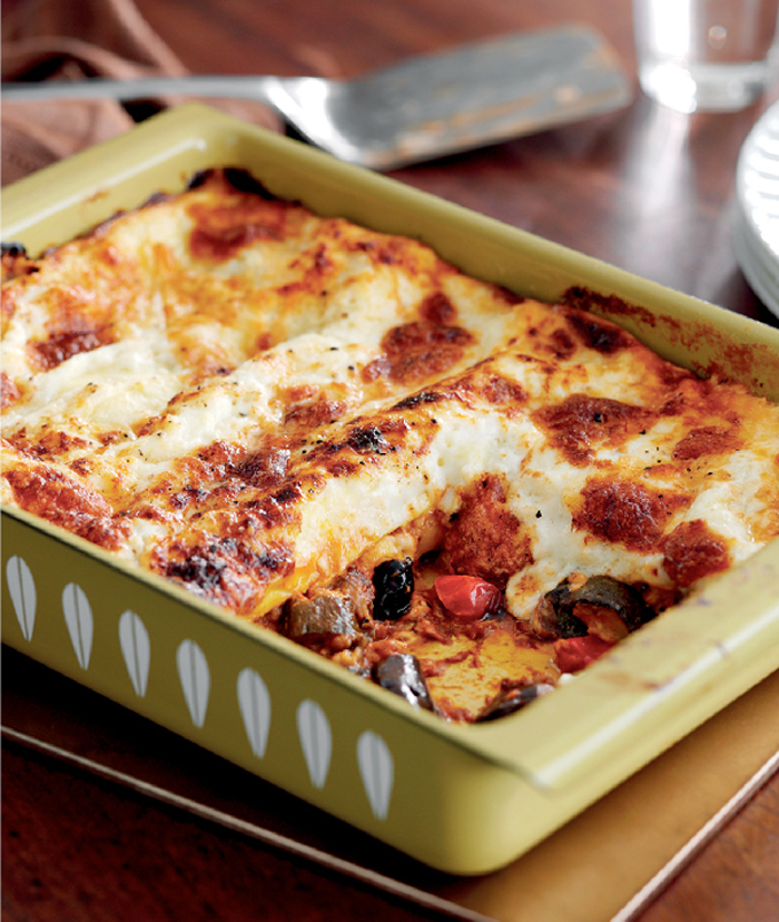 vegetable lasagne recipe from jo pratt