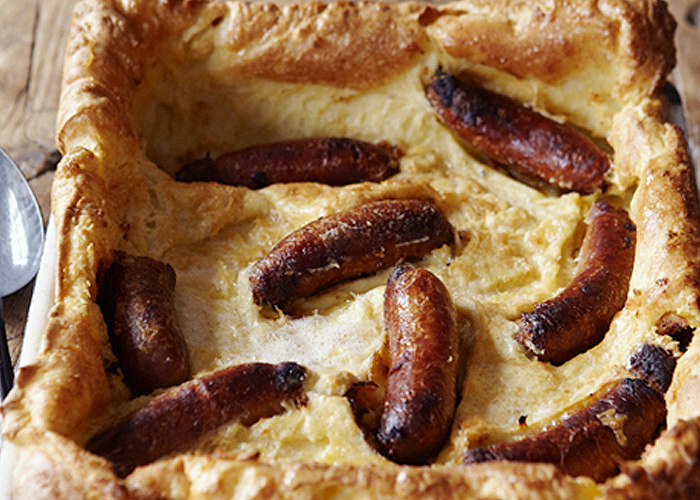 toad in the hole recipe from Johnnie Mountain