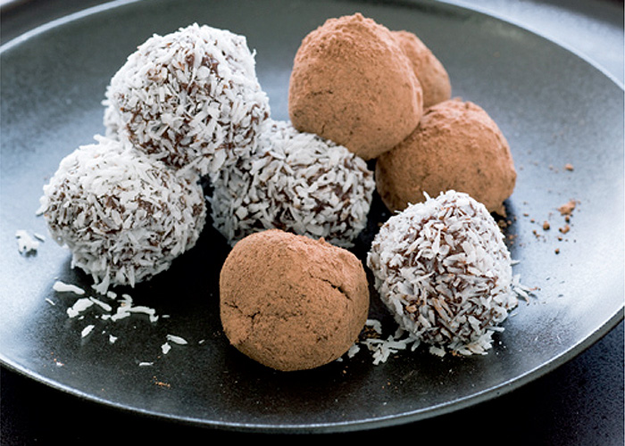 orange date and chocolate truffle recipe