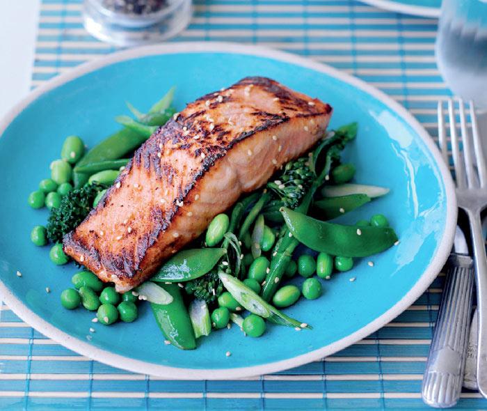 recipe for honey miso salmon