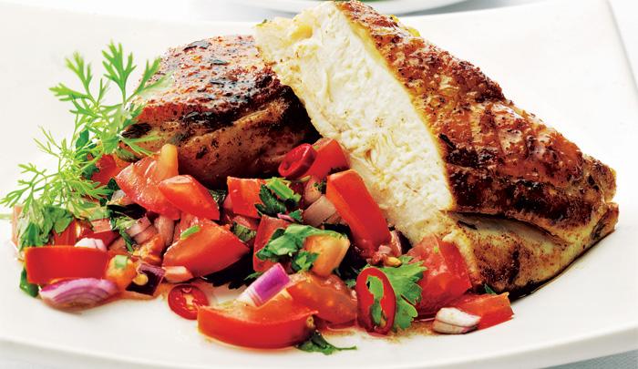 cheap-food---cajun-chicken-with-tomato-salsa