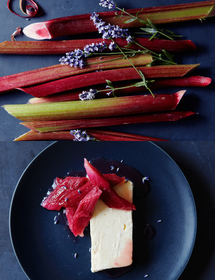 honey-parfait-with-poached-rhubarb
