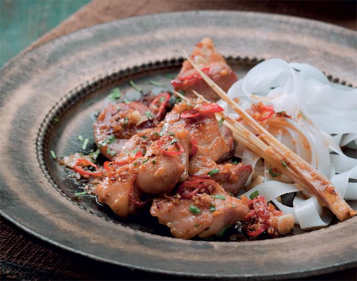 vietnamese chicken with chilli and lemongrass recipe