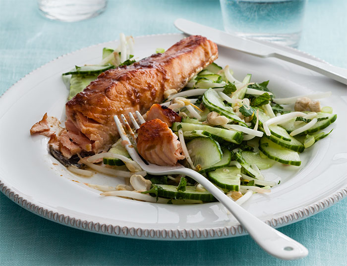 Chilli-Glazed-Salmon-with-a-Lime-Cucumber-Salad