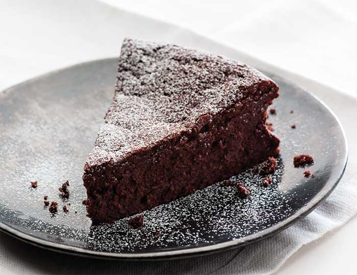 chocolate and orange cake low sugar