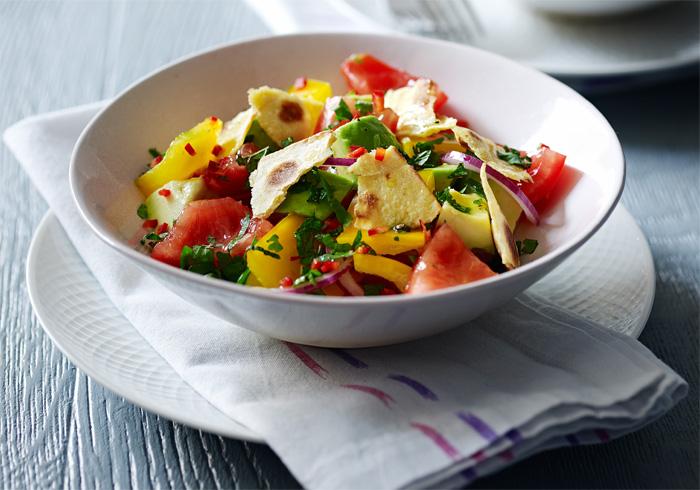 fattoush-vegetarian-recipe-from-veggienomics