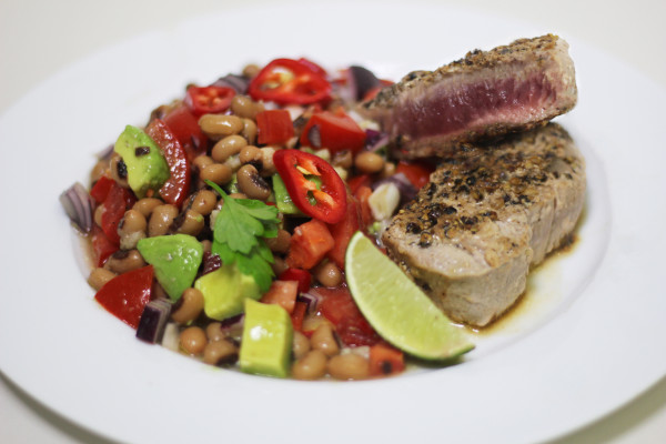 Seared Tuna Steak - Emily Coates