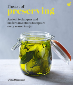 book cover the art of preserving